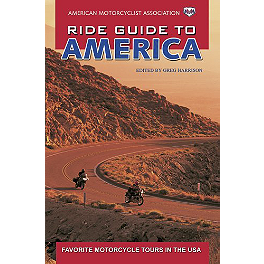 Ride Guide To America - Show Chrome Laser Etched Crystal Paperweight - GL1800