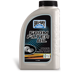Bel-Ray Foam Filter Oil - 1 Liter - Bel-Ray Blue Tac Chain Lube - 400Ml