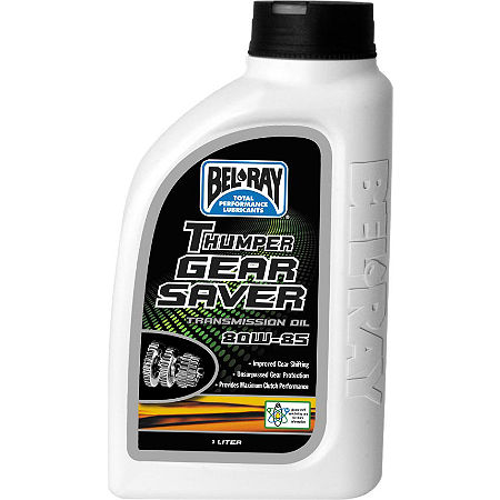 Bel-Ray 80W-85 Thumper Gear Saver Transmission Oil - 1 Liter - Main