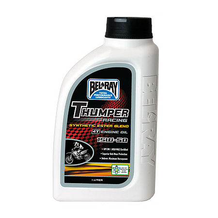 Bel-Ray Thumper Synthetic 4-Stroke Engine Oil - Main