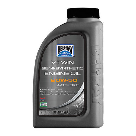 Bel-Ray V-Twin Semi-Synthetic 4-Stroke Engine Oil - Main