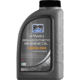 Bel-Ray V-Twin Semi-Synthetic 4-Stroke Engine Oil - Maxima DOT 4 Brake Fluid