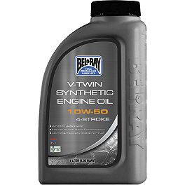 Bel-Ray V-Twin Synthetic 4-Stroke Engine Oil - Bel-Ray 10W40 EXL 4 Stroke Engine Oil - 4 Liter