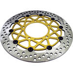 Brembo HPK Supersport Front Brake Rotor With 5mm Spacer Kit Combo - Motorcycle Brake Rotors