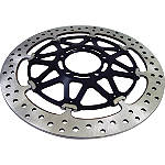 Brembo HPK T-Drive Front Brake Rotor With 5mm Spacer Kit Combo -