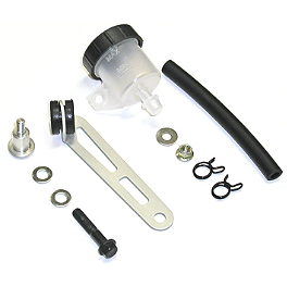Brembo Clutch Reservoir Mounting Kit - Accossato Fluid Reservoir With Mounting Hardware