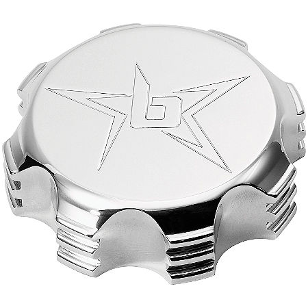 Blingstar Gas Cap - Polished Aluminum - Main