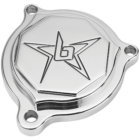 Blingstar Oil Filter Cover - Polished Aluminum - Main