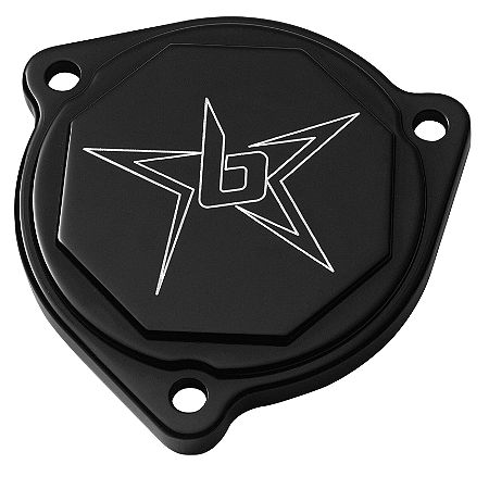Blingstar Starter Cover - Anodized Black - Main