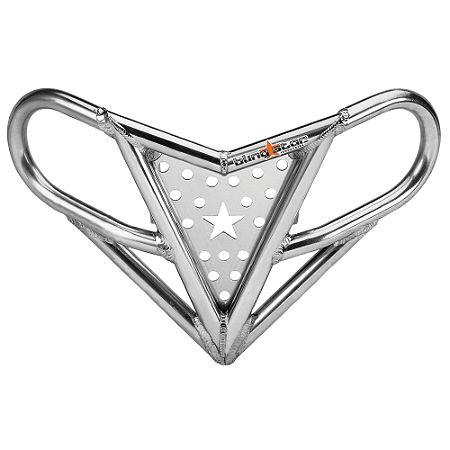 Blingstar Victory Front Bumper - Polished Aluminum - Main