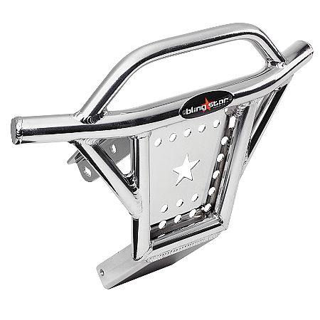 Blingstar X Country Rodeo Front Bumper - Polished Aluminum - Main
