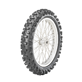 Bridgestone M102 Rear Tire - 110/90-19 - 2012 Husqvarna TC449 Bridgestone M204 Rear Tire - 120/80-19