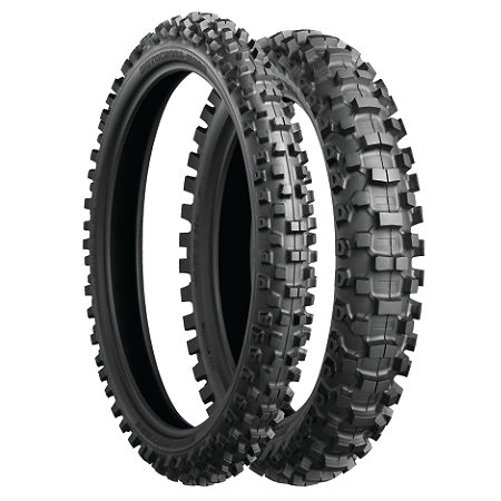 Bridgestone M203 Front Tire - 90/100-21 - Main