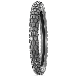 Bridgestone TW301 Front Tire - 3.00-21 - 1991 Honda CR250 Dunlop D803 Front Trials Tire - 2.75-21