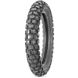 Bridgestone TW302 Rear Tire - 4.10-18 - 2006 Husqvarna TE610 Michelin T63 Tire Combo
