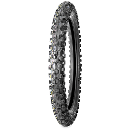Bridgestone M403 Front Tire - 80/100-21 - 1976 Honda CR125 Bridgestone M404 Rear Tire - 100/100-18