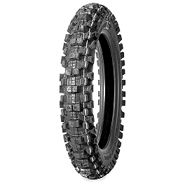 Bridgestone M404 Rear Tire - 100/90-19 - 1998 Suzuki RM125 Bridgestone M203 Front Tire - 80/100-21