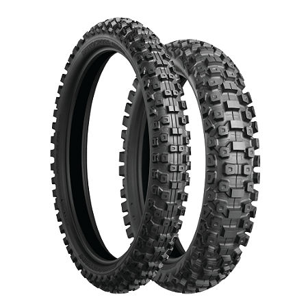 Bridgestone M603 Front Tire - 80/100-21 - Main