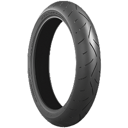 Bridgestone Battlax BT003RS Front Tire - 120/70ZR17 - 2009 KTM 1190 RC8 R GB Racing Clutch Cover
