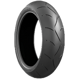 Bridgestone Battlax BT003RS Rear Tire - 180/55ZR17 - Bridgestone Battlax BT016PRO Rear Tire - 180/55ZR17