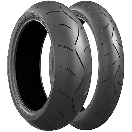 Bridgestone Battlax BT003RS Tire Combo - Bridgestone Battlax BT016 Front Tire - 120/60ZR17