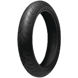 Bridgestone Battlax BT016 Front Tire - 120/60ZR17 - Bridgestone Battlax BT016PRO Rear Tire - 190/55ZR17