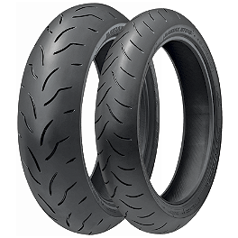 Bridgestone Battlax BT016PRO Tire Combo - Bridgestone Battlax BT003RS Rear Tire - 190/50ZR17