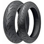 Bridgestone Battlax BT016PRO Tire Combo -  Motorcycle Electronic Accessories