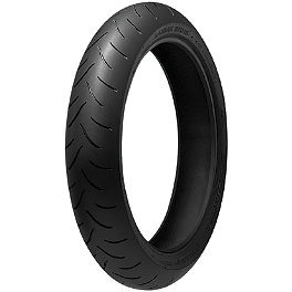 Bridgestone Battlax BT016PRO Front Tire - 120/70ZR17 - Bridgestone Battlax BT023 Rear Tire - 170/60ZR17