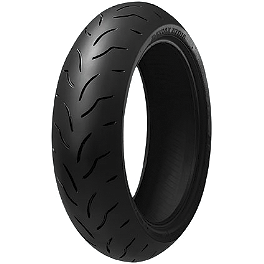Bridgestone Battlax BT016PRO Rear Tire - 190/50ZR17 - Bridgestone Battlax BT023 Front Tire - 120/70ZR17