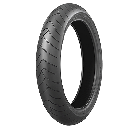Bridgestone Battlax BT023 Front Tire - 120/60ZR17 - Bridgestone Battlax BT003RS Rear Tire - 180/55ZR17