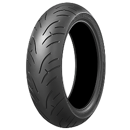 Bridgestone Battlax BT023 Rear Tire - 180/55ZR17 - Bridgestone Battlax BT016PRO Front Tire - 120/70ZR17