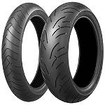 Bridgestone Battlax BT023 Tire Combo - Bridgestone Motorcycle Products