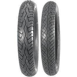 Bridgestone Battlax BT45 Tire Combo - Bridgestone Tube 110/90-19 Straight Metal Stem