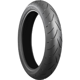 Bridgestone Battlax Hypersport S20 Front Tire - 120/70ZR17 - Marchesini 10 Spoke Cush Drive Rubber