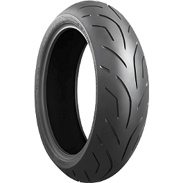Bridgestone Battlax Hypersport S20 Rear Tire - 180/55ZR17 - Bridgestone Battlax BT016PRO Rear Tire - 180/55ZR17