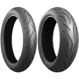 Bridgestone Battlax Hypersport S20 Tire Combo - Bridgestone Battlax BT016 Front Tire - 130/70ZR16