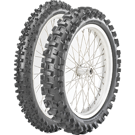 Bridgestone 125/250F Tire Combo - 2012 Husqvarna TC250 Michelin 125 / 250F Starcross Tire Combo