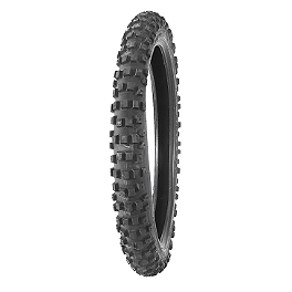 Bridgestone ED03 Front Tire - 3.00-21 - 2013 Husqvarna TC449 Bridgestone M404 Rear Tire - 120/80-19