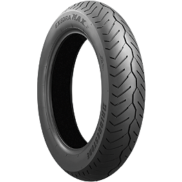 Bridgestone Exedra Max Bias Front Tire 110/90-19 - Bridgestone Tube 110/90-17 Straight Metal Stem