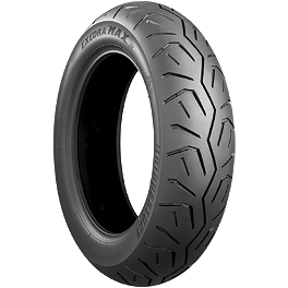Bridgestone Exedra Max Bias Rear Tire - 150/90-15HB - Bridgestone Tube 130/90-16 Straight Metal Stem