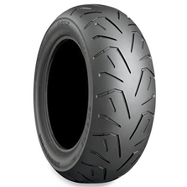 Bridgestone Exedra Max Radial Rear Tire 200/50ZR-17 - Bridgestone Tube 110/90-17 Straight Metal Stem