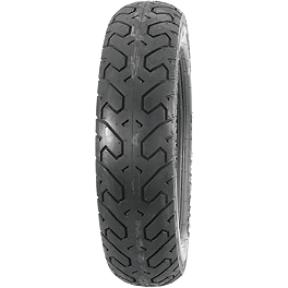 Bridgestone Spitfire S11 Rear Tire - 130/80-18H - Dunlop Tube MH90-21 Straight Metal Stem