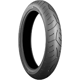 Bridgestone T30 Front Tire - 120/70ZR17 - Bridgestone Exedra Max Bias Rear Tire 160/80-15