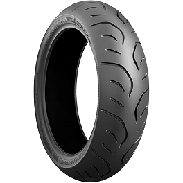 Bridgestone T30 Rear Tire - 180/55ZR17 - Bridgestone Tube 140/90-15 - 90-Degree Metal Stem