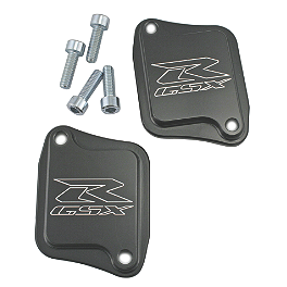 Circuit 1 Smog Block Off Plates - 2006 Suzuki GSX-R 1000 Powerstands Racing Air Injection Block Off Plate