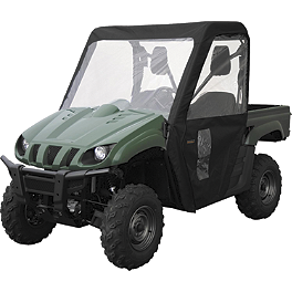 Classic Accessories UTV Cab Enclosure - Black - 2007 Polaris RANGER 700 XP 4X4 Moose Full Cab Enclosure