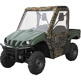 Classic Accessories UTV Cab Enclosure - Camo - Classic Accessories UTV Cab Enclosure - Black
