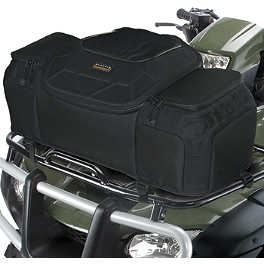 Classic Accessories Quad Gear Molded Evolution Front Cargo Bag - Moose Axis Front Rack Bag - Black