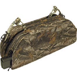 Classic Accessories UTV Double Bow Case - Camo - Classic Accessories Quad Gear Extreme Handlebar Bag